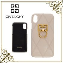 GIVENCHY Leather Smart Phone Cases