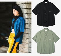 DIAMOND LAYLA Street Style Plain Polo Shirts