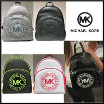 Michael Kors Casual Style Saffiano Backpacks