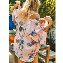 CUPSHE Flower Patterns Beach Cover-Ups