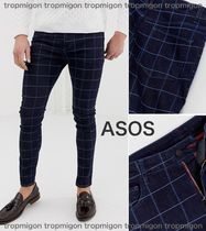ASOS Other Check Patterns Denim Skinny Fit Pants