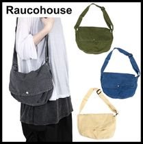 Raucohouse Casual Style Street Style Shoulder Bags