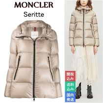 MONCLER Nylon Medium Down Jackets