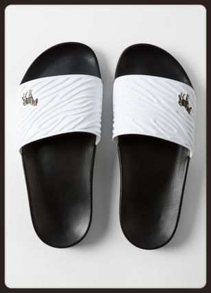 Paul Smith Logo Zebra Patterns Sandals