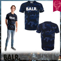 BALR Camouflage Street Style Short Sleeves T-Shirts