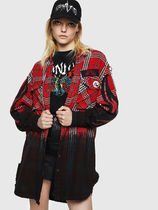 DIESEL Other Check Patterns Casual Style Street Style Medium