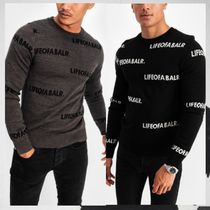 BALR Street Style Long Sleeves Knits & Sweaters