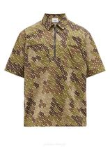 Burberry Camouflage Short Sleeves Shirts