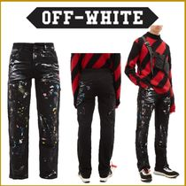 Off-White Denim Street Style Jeans & Denim