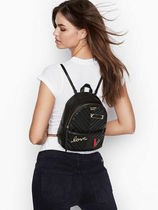 Victoria's secret Casual Style Logo Backpacks