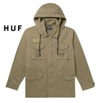 HUF Street Style Collaboration Parkas