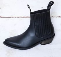 GOOD GUYS Mid Heel Boots