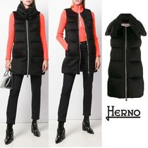 HERNO Casual Style Plain Vests
