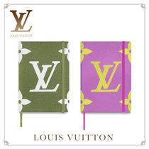 Louis Vuitton Unisex Khaki Notebooks