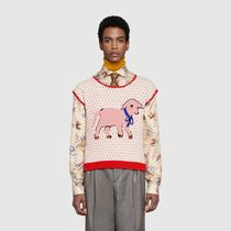 GUCCI Sweaters Wool Luxury Sweaters 4