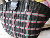 S C Vizcarra Blended Fabrics Straw Bags