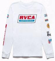 RVCA Crew Neck Long Sleeves Long Sleeve T-Shirts