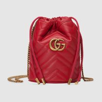 GUCCI GG Marmont Leather Shoulder Bags