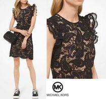 Michael Kors Sleeveless Medium Lace Dresses