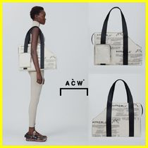 A-COLD-WALL Casual Style Canvas Totes