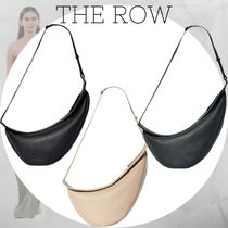 The Row Plain Leather Shoulder Bags