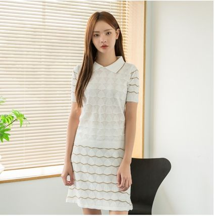 Tight Plain Medium Long Sleeve T-shirt Formal Style  Co-ord