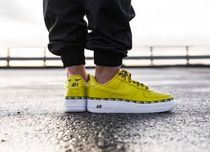 Nike AIR FORCE 1 Casual Style Unisex Street Style Plain Low-Top Sneakers