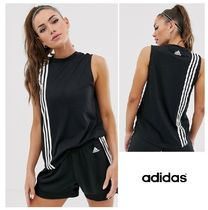 adidas Crew Neck Street Style Plain Medium Tanks & Camisoles