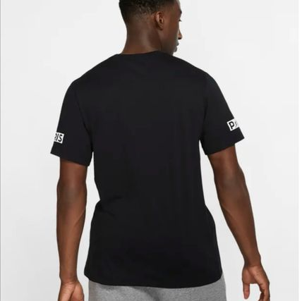 Nike More T-Shirts Street Style U-Neck Collaboration Cotton Short Sleeves Logo 3