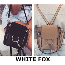 WHITE FOX Casual Style Plain Shoulder Bags