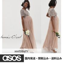 ASOS Blended Fabrics With Jewels Maternity