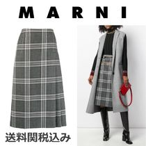 MARNI Other Check Patterns Wool Blended Fabrics Medium
