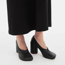 Maison Martin Margiela Plain Leather High Heel Pumps & Mules