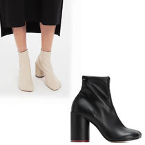 Maison Martin Margiela Plain Leather High Heel Boots