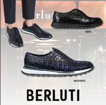 Berluti Other Animal Patterns Leather Sneakers