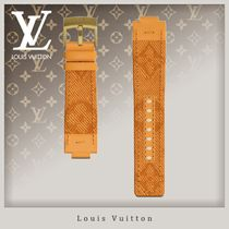 Louis Vuitton MONOGRAM Blended Fabrics Street Style Watches Watches