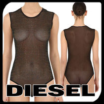 DIESEL Nylon Plain Slips & Camisoles