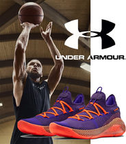 UNDER ARMOUR CURRY Unisex Street Style Logo Sneakers