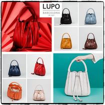 Lupo Barcelona Tassel 2WAY Leather Shoulder Bags