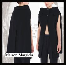 Maison Martin Margiela Wool Plain Medium Ponchos & Capes