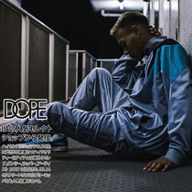 DOPE couture Unisex Street Style Bi-color Oversized Track Jackets