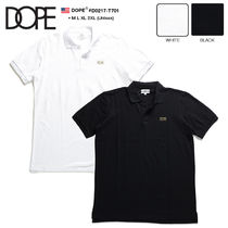 DOPE couture Unisex Fine Gauge Street Style Cotton Short Sleeves