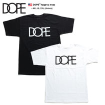 DOPE couture Crew Neck Pullovers Unisex Street Style Cotton Short Sleeves