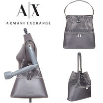 A/X Armani Exchange Casual Style Shoulder Bags