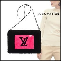 Louis Vuitton 2019-20AW LV IN THE CITY BEAVER MUFF black free shoulder bag