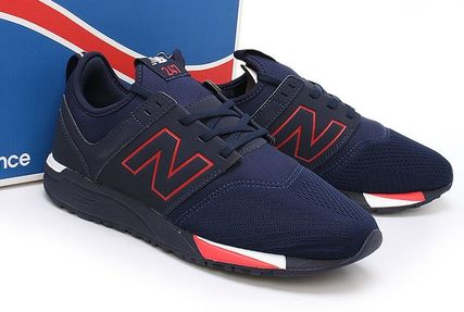 New Balance 247 Casual Style Unisex Suede Street Style Low-Top Sneakers (mrl247nr)