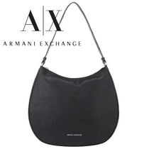 A/X Armani Exchange Casual Style Logo Shoulder Bags