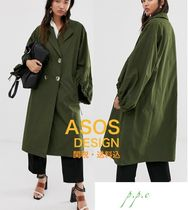 ASOS Casual Style Plain Medium Oversized Parkas