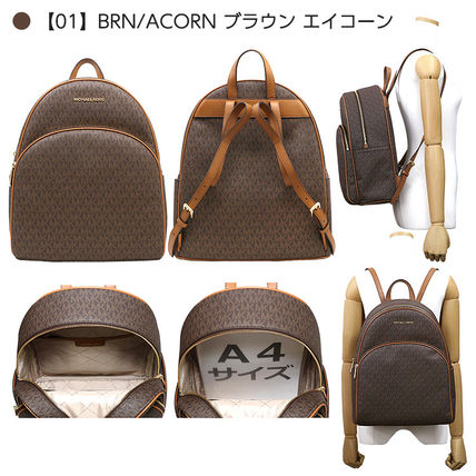 Casual Style A4 Office Style Backpacks