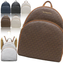 Michael Kors Casual Style A4 Office Style Backpacks